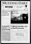 Mustang Daily, January 31, 2006