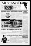 Mustang Daily, October 24, 2006