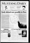 Mustang Daily, October 31, 2006