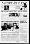 Mustang Daily, November 3, 2006