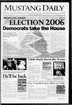 Mustang Daily, November 8, 2006