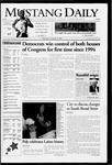 Mustang Daily, November 9, 2006