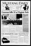 Mustang Daily, April 17, 2007