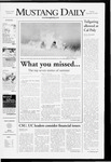 Mustang Daily, September 18, 2007