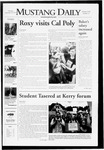 Mustang Daily, September 20, 2007