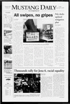 Mustang Daily, September 21, 2007