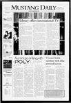 Mustang Daily, September 26, 2007