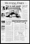 Mustang Daily, September 27, 2007