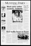 Mustang Daily, October 1, 2007