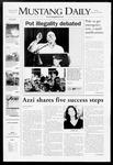 Mustang Daily, October 19, 2007