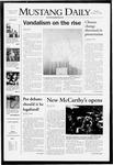 Mustang Daily, October 22, 2007