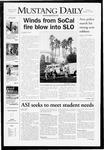 Mustang Daily, October 23, 2007