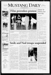 Mustang Daily, October 25, 2007