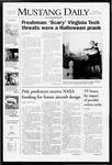 Mustang Daily, November 1, 2007