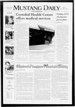 Mustang Daily, November 2, 2007
