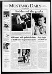 Mustang Daily, November 8, 2007