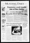 Mustang Daily, November 14, 2007