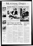 Mustang Daily, November 28, 2007