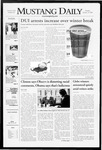 Mustang Daily, January 14, 2008