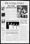 Mustang Daily, January 16, 2008