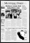 Mustang Daily, January 17, 2008