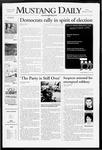 Mustang Daily, January 18, 2008