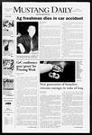Mustang Daily, January 22, 2008