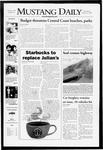 Mustang Daily, January 23, 2008