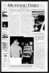 Mustang Daily, January 25, 2008