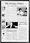 Mustang Daily, January 29, 2008