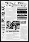 Mustang Daily, January 30, 2008