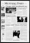 Mustang Daily, January 31, 2008