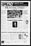 Mustang Daily, February 4, 2008