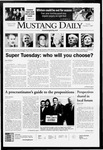 Mustang Daily, February 5, 2008