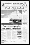 Mustang Daily, March 3, 2008