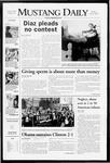 Mustang Daily, April 4, 2008