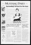 Mustang Daily, April 7, 2008