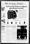 Mustang Daily, April 9, 2008