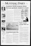 Mustang Daily, April 11, 2008
