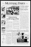 Mustang Daily, April 15, 2008