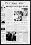 Mustang Daily, April 17, 2008