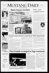 Mustang Daily, April 21, 2008