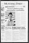 Mustang Daily, April 29, 2008