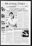 Mustang Daily, April 30, 2008