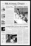 Mustang Daily, May 2, 2008