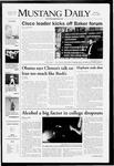 Mustang Daily, May 5, 2008