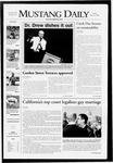 Mustang Daily, May 16, 2008