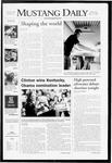 Mustang Daily, May 21, 2008