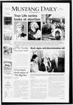 Mustang Daily, May 22, 2008