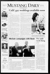 Mustang Daily, May 28, 2008
